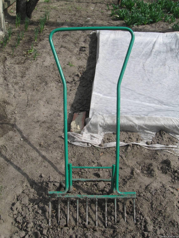 Приспособления для копки огорода своими руками